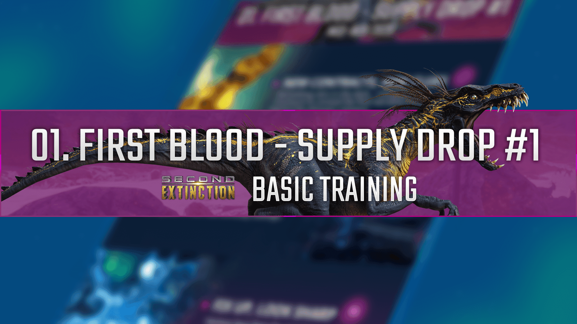 The First Supply Drop is about to land!