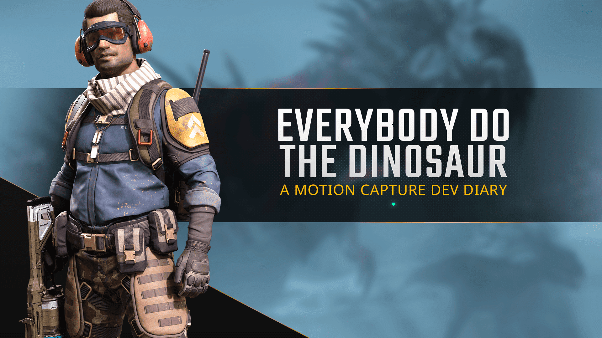 Everybody do the Dinosaur – A Motion Capture Dev Diary